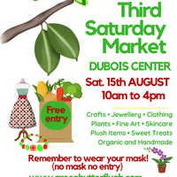 Green Butterfly ARTISAN MARKET At DUBOIS CENTER 15th AUGUST