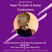 How to Gain & Keep Customers
