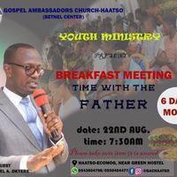 Breakfast with Rev. Ameteypey Okyere