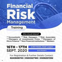 Financial Risk Managment Training