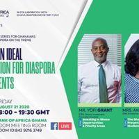 Ghana, An Ideal Destination for Diaspora Investments