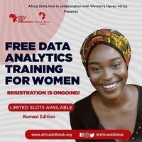 Free Data Analytics training For women
