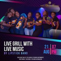 Live Grills with Lipstick Band