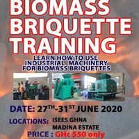 Biomass Charcoal Briquette Training Course