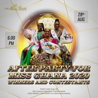 After Party with Ms Ghana winner and contestants