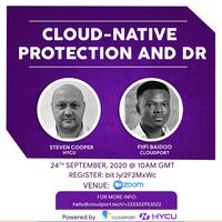 Cloud-Native Protection and Data Recovery (DR)