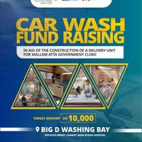 Rotary Club of Accra Ridge Car Washing Fundraiser.