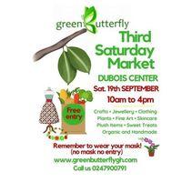 Green Butterfly Artisan Market 19th Sept. Dubois Center