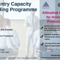 ATTITUDINAL CHANGE FOR INCREASED PRODUCTIVITY