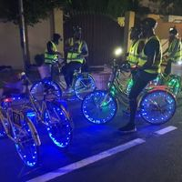 OCTOBER SPECIAL NEON NIGHT CYCLING