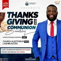 Thanksgiving & Communion Services