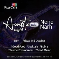 Acoustic Night with Nene Narh