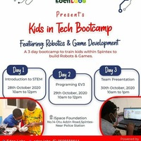 Kids In Tech Bootcamp