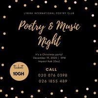 Poetry & Music Night