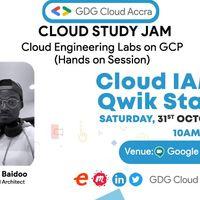 Cloud Study Jam- Cloud Engineering Labs (Cloud IAM: Qwik Start)