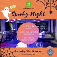 Spooky Night @ Ibisstyles Accra