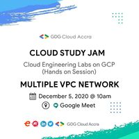 Cloud Engineering Labs on GCP - Multiple VPC Networks