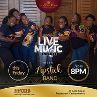 Live Music and Grills with Lipstick Band
