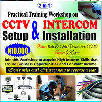 CCTV & Intercom Installation Training Workshop