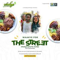 Waakye for the street