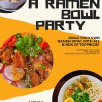 A RAMEN BOWL PARTY