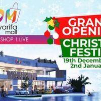 OYARIFA MALL GRAND OPENING + CHRISTMAS FESTIVAL