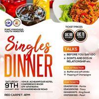 SINGLES DINNER