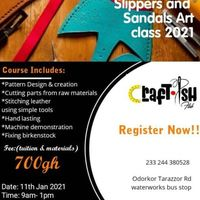 Slippers and Sandals Making Class
