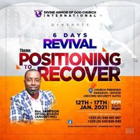POSITIONING TO RECOVER REVIVAL