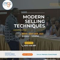 MODEN SELLING TECHNIQUES
