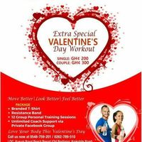 EXTRA SPECIAL VALENTINES DAY WORKOUT