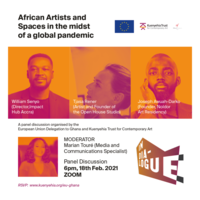 African Artists and Spaces in a global pandemic - Art Talk