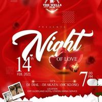 Night Of Love @ The Wells Pub