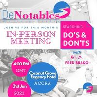 In-Person Meeting   Searching Dos and Donts