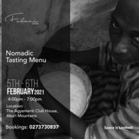 Nomadic Tasting Menu
