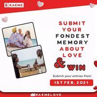 Valentine's Day Contest #kaemelovers