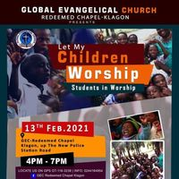Let My Children Worship (Students in Worship)