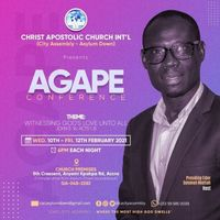 Agape Conference 2021