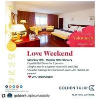 Love Weekend @ Golden Tulip- Kumasi