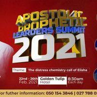 The Apostolic Prophetic Leaders Summit 2021.