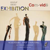 """Art Exhibition """"Com-vidé"""""""