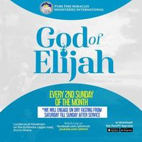 God Of Elijah
