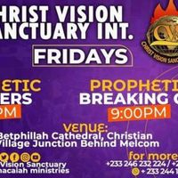 FRIDAY PROPHETIC AND BREAKING OF CURSES SERVICE