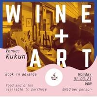 Wine + Art @ Kukun