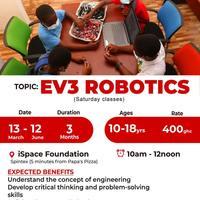 EV3 robotics, Game development and Electronic components