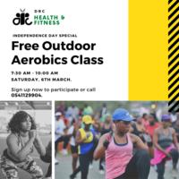 DRC Free Outdoor Aerobics Class