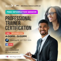 INFO SESSION - Trainer Certification Course