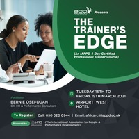 TRAINER CERTIFICATION COURSE