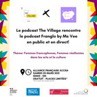 Francophonie - Enregistrement de Podcast Live