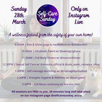Self-Care Sunday(Accra) - Instagram Live